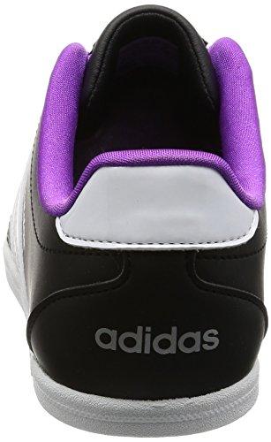 adidas Vs Coneo Qt W, Scarpe da Ginnastica Donna Nero (Negbas/Ftwbla/Plamat)