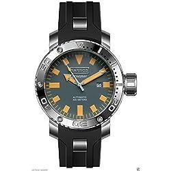 Barbos Stingray - Reloj de pulsera para hombre, automático, resistente al agua 500 m