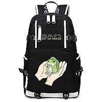 Gumstyle Tabikaeru Journey Frog Game School Bag Backpack Shoulder Laptop Bags for Boys Girls Students