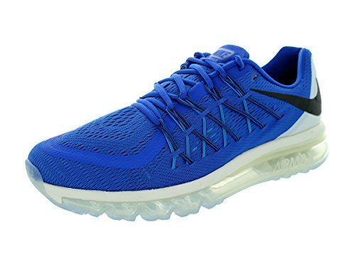 Nike Men's Air Max 2015 Game Royal,Black,White,Blue Lagoon  Running Shoes -8 UK/India (42.5 EU)(9 US)
