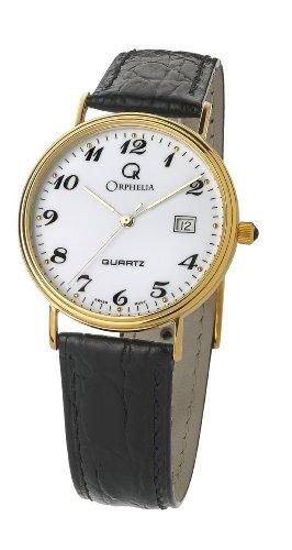 Orphelia Homme Analogique Quartz Montre avec Bracelet en Cuir MON-7081/2