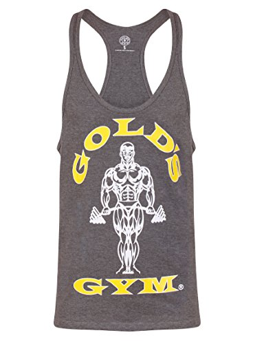Goldsgym Muscle Joe Premium Tank Top hellgrau