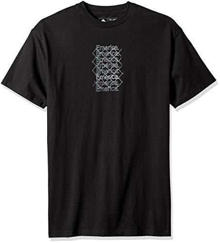 Emerica Herren LINK SS Tee T-Shirt, schwarz, Groß