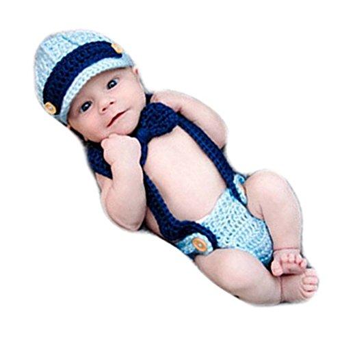 Neugeborenen Babyfotografie Props Kostüm Jungen Mädchen Baby Fotografieren Fotoshooting Set Requisiten Accessoire Gentleman Hut Krawatte Strampler