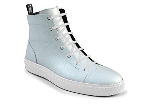 DIS - Gianmarco - Sneakers Hautes - Unisexe Blanc