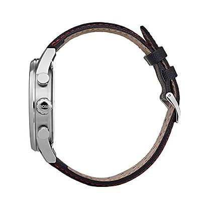 41h0oI%2BGGHL. SS416  - Hugo BOSS Reloj Análogo clásico para Hombre de Cuarzo con Correa en Tela 1513535