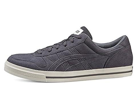 Asics Schuhe Aaron Unisex dark grey-dark grey (HY527-1616), 42, grau
