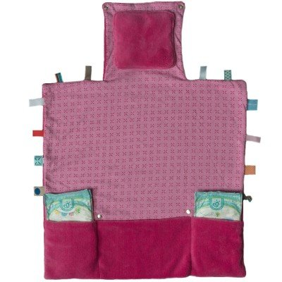Snoozebaby Wickelunterlage Easy Changing (Funky Pink, 50 x 70 cm)