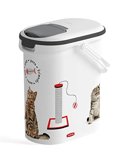 Curver Conteneur à Croquettes pour Chat Blanc 4 kg
