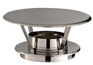Chapeau pare-pluie THERMINOX TI , diamètre 150 mm , tous combustibles Réf. CPI 150 TZ / 21150087