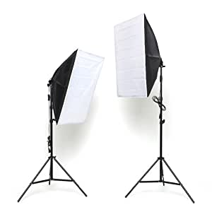 mvpower softbox fotolampe studioset mit. Black Bedroom Furniture Sets. Home Design Ideas