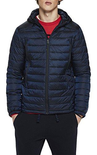 Scotch & Soda Herren Jacke Basic Puffer Jacket, Blau (Night 0002), XX-Large