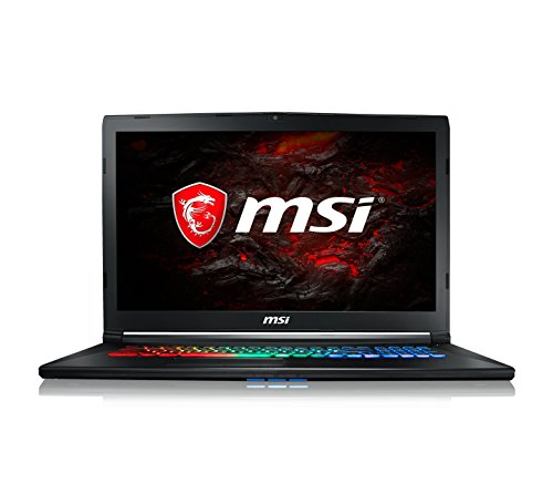 "MSI Leopard GP72M 7RDX-1037ES - Ordenador portátil de 17.3"" FHD (Kabylake i7-7700HQ, RAM de 16 GB DDR4, HDD de 1 TB y SSD de 256 GB, Nvidia GeForce GTX 1050, Windows 10 Home) color negro"