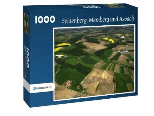 Preisvergleich Produktbild Seidenberg - Memberg und Asbach - Puzzle 1000 Teile mit Bild von oben
