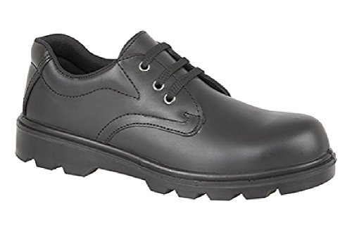 Grafters Men's M361A Safety Shoes Nero