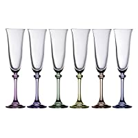 Galway Crystal Galway Liberty Party Pack Flutes (Set of 6)