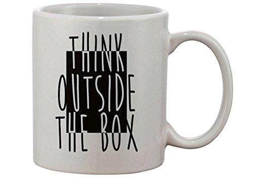 Always Think Outside The Box Custom Made Mug