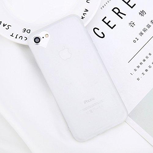 POHONOEO Matt weicher TPU Telefon Kasten für iPhone 6 6s plus Süßigkeit Normallack Abdeckungs zurück Fälle für iPhone 8 7 6S plus 5 5s SE Fall, transparent, für iPhone 5 5s SE