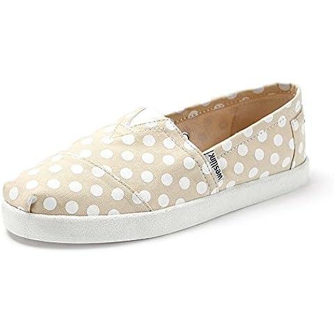 Scarpe primavera/Un pedale scarpe/Piatto scarpe da donna