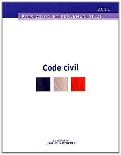Code civil - Edition au 19 juillet 2011