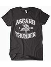 The Avengers Assemble T shirt The Mighty THOR Asgaurd Thunder Black