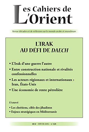 CAHIERS DE L'ORIENT N121