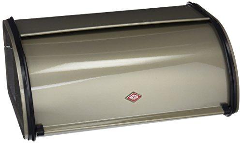 Wesco 212101-03  Rollbrotkasten neusilber h:13,5cm, b:33cm,t:21,5cm