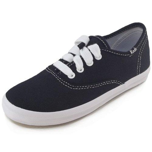 Keds  CHAMP CVO, Sneakers Basses mixte enfant Noir - schwarz/weiß (black/white)