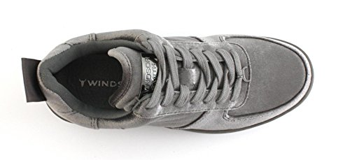 Windsor Smith Racerr velvet graphite Grigio