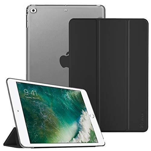 FINTIE Nuovo iPad 9.7 Pollici 2018 2017 Cover - Sottile Leggero Semi-Trasparente Custodia Smart Case con Auto Sveglia/Sonno Funzione per Apple New iPad 9,7 inch 2018 2017 Modello, Menta Verde