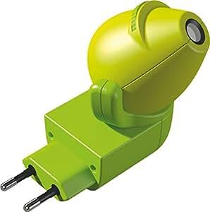 HABA 301993 Power socket Green LED 1W baby night-light - baby night-lights (Power socket, green, Plastic, Animals, Dragon, LED)