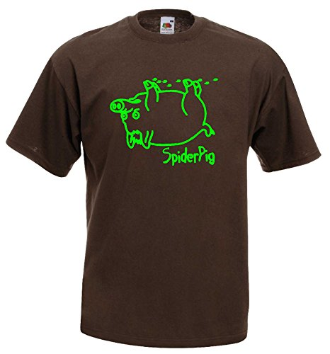 world-of-shirt-herren-t-shirt-spider-pig-homer-simpsons