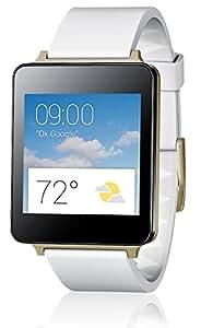 LG G Watch W100 Smartwatch, Bianco/Oro [Italia]