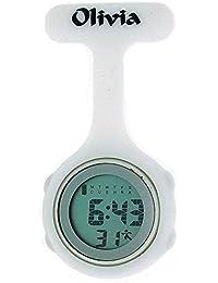 Olivia Kollektion weiße digitale Multifunktion Krankenschwester Uhr TOC78