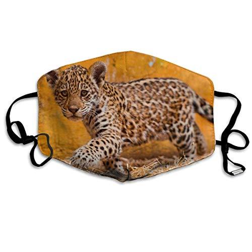 Leopard Halb Maske - Daawqee Mund Maske, Cute Leopard Adult