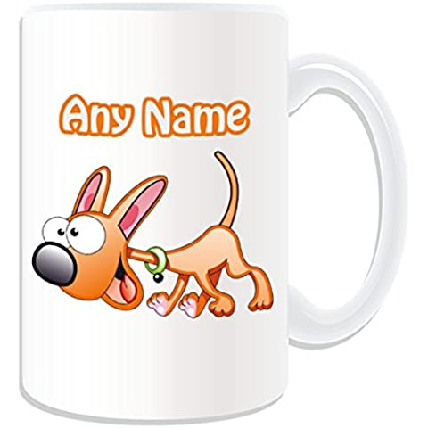 Regalo personalizzato – Tazza grande Happy Dog # 2 (animali, motivo design, colore: