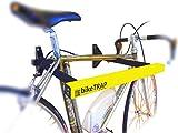 Candado y soporte antirrobo de pared para bicicletas bikeTRAP de alta seguridad
