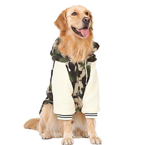 cappotto per l/'autunno e l/'inverno Border Collie e Husky. Kuuboo- Abbigliamento per cani in cachemire di agnello Per razze come Labrador Samoiedo