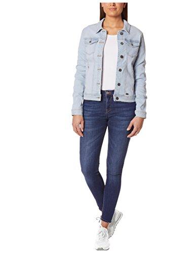 Berydale Damen Jeansjacke mit modischer Waschung, Hellblau, Gr. 34 - 4
