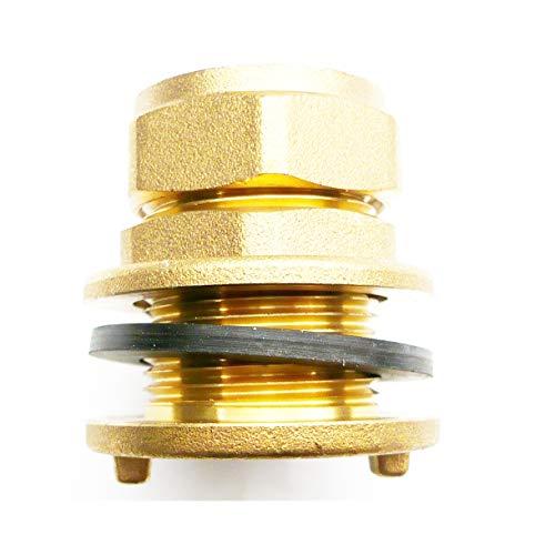 En laiton 22 mm Raccord de compression