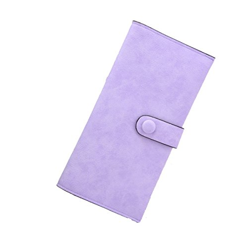 Di Modo Delle Signore Lungo Paragrafo 2pcs Frizione Multi-color Purple