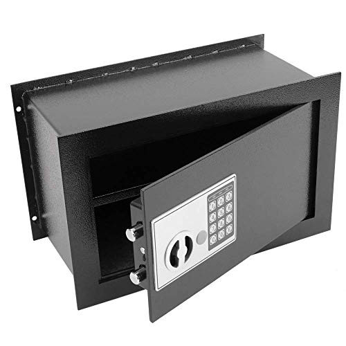 PrimeMatik - Caja Fuerte de Seguridad empotrada con código electrónico Digital 40x20x25cm...