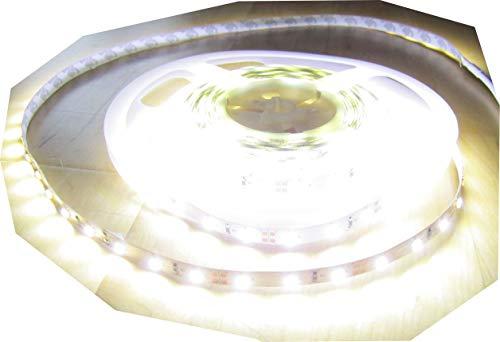 12500 Lumen 5m X-Ultra-Highpower LED Streifen mit 600 2835 LED's neutralweiß natur weiss naturweiß superhell 24V ohne Netzteil von AS-S
