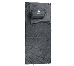 10T Bedford XXL Camping Schlafsack bis -16°C Outdoor Deckenschlafsack 210x90 cm Hüttenschlafsack mit 2200g Trekking Reiseschlafsack für 3 / 4 Jahreszeiten Frühling Sommer Herbst