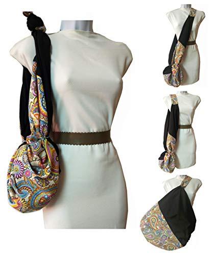 Borsa Cashmere per donna. Multi-Purpose. È piccolo e diventa grande. Pulibile. Esclusivo Amazon / Handmade.