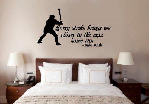 baseball-babe-ruth-decalcomania-wall-art-in-vinile-parole-scritte-adesivo-decorativo-30-x-16