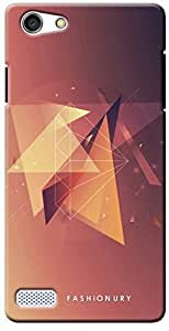 Fashionury Printed Back Case Cover for Oppo Neo7 Print-4092