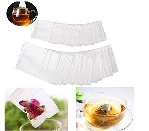 Xiton Applikation Filter Papier Teebeutel 200 Einweg Teesieb für losen Tee - Papier-tee-filter