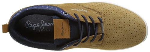 Pepe Jeans Jayden 2.0, Sneakers Basses Homme Marron (Tobacco)