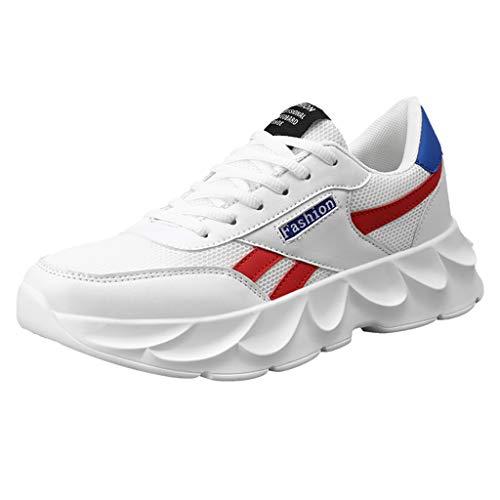 MISSQQScarpe Running Sneakers Uomo Donna Sport Scarpe da Ginnastica Fitness Respirabile Mesh Corsa Leggero Casual all'Aperto